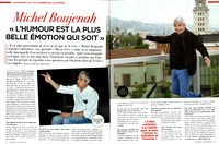 Michel Boujenah, Journal de France (photo on right), IProdUSA, SpLAshPR Agency
