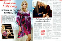 Katherine Kelly Lang, Journal de France
