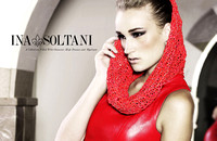 Designer Ina Soltani, the LA Fashion