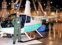 Silver State Helicopters representative, at convention