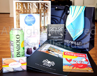 2015  Barnes at COLCOA After Party Gift Bag, produced by SpLAshP